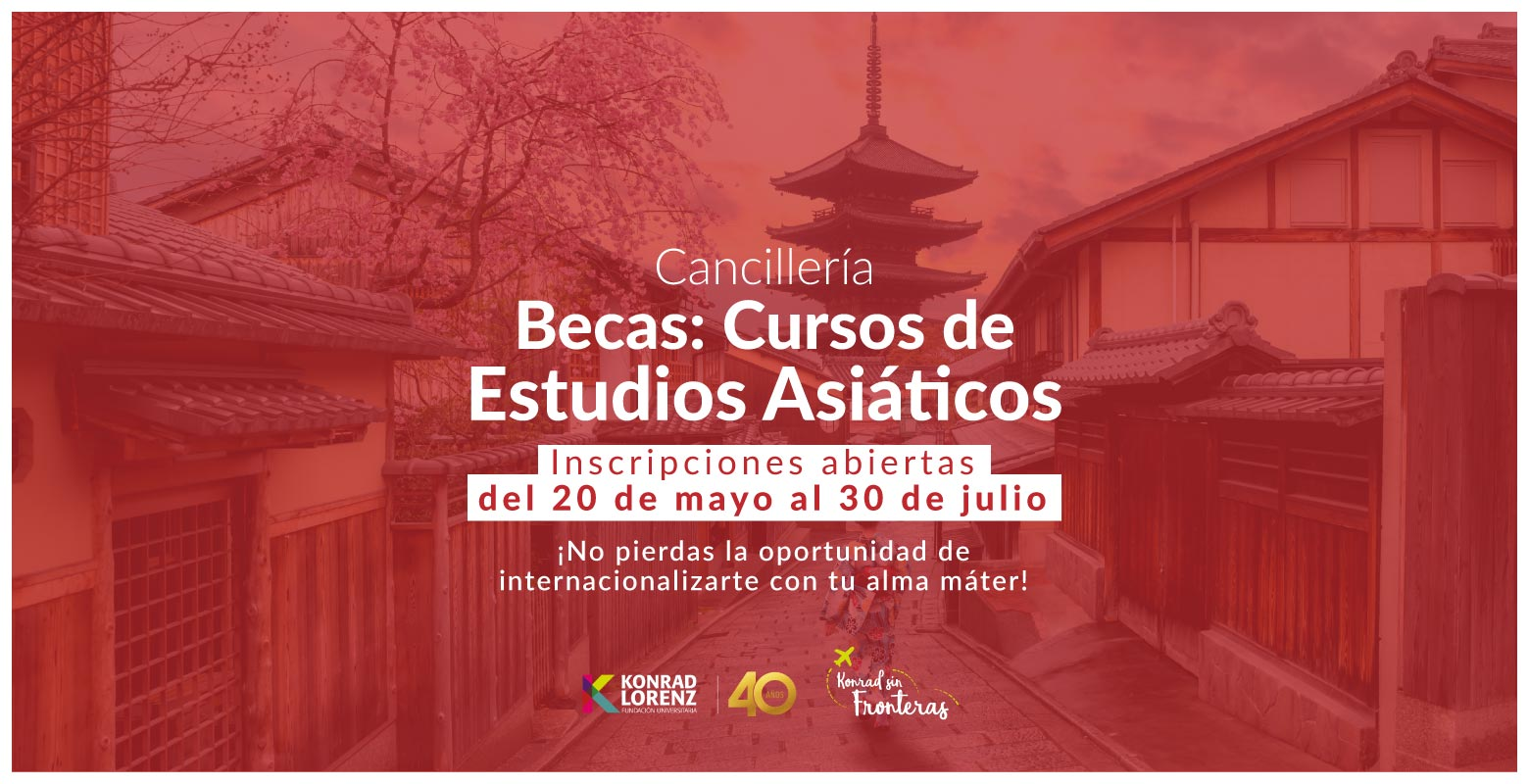 Becas: Cursos de Estudios Asiáticos