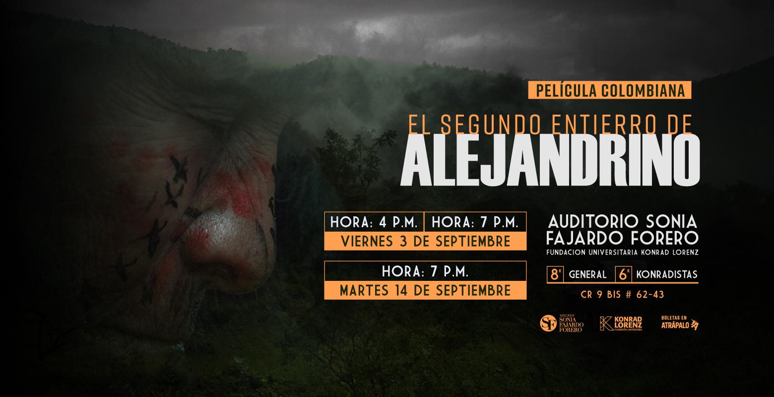Película Colombiana: El Segundo Entierro de Alejandrino