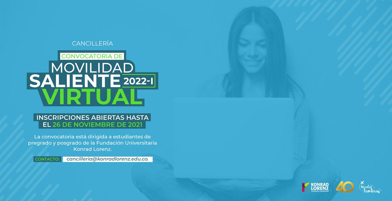 Convocatoria de Intercambio Académico Virtual Saliente 2022-I
