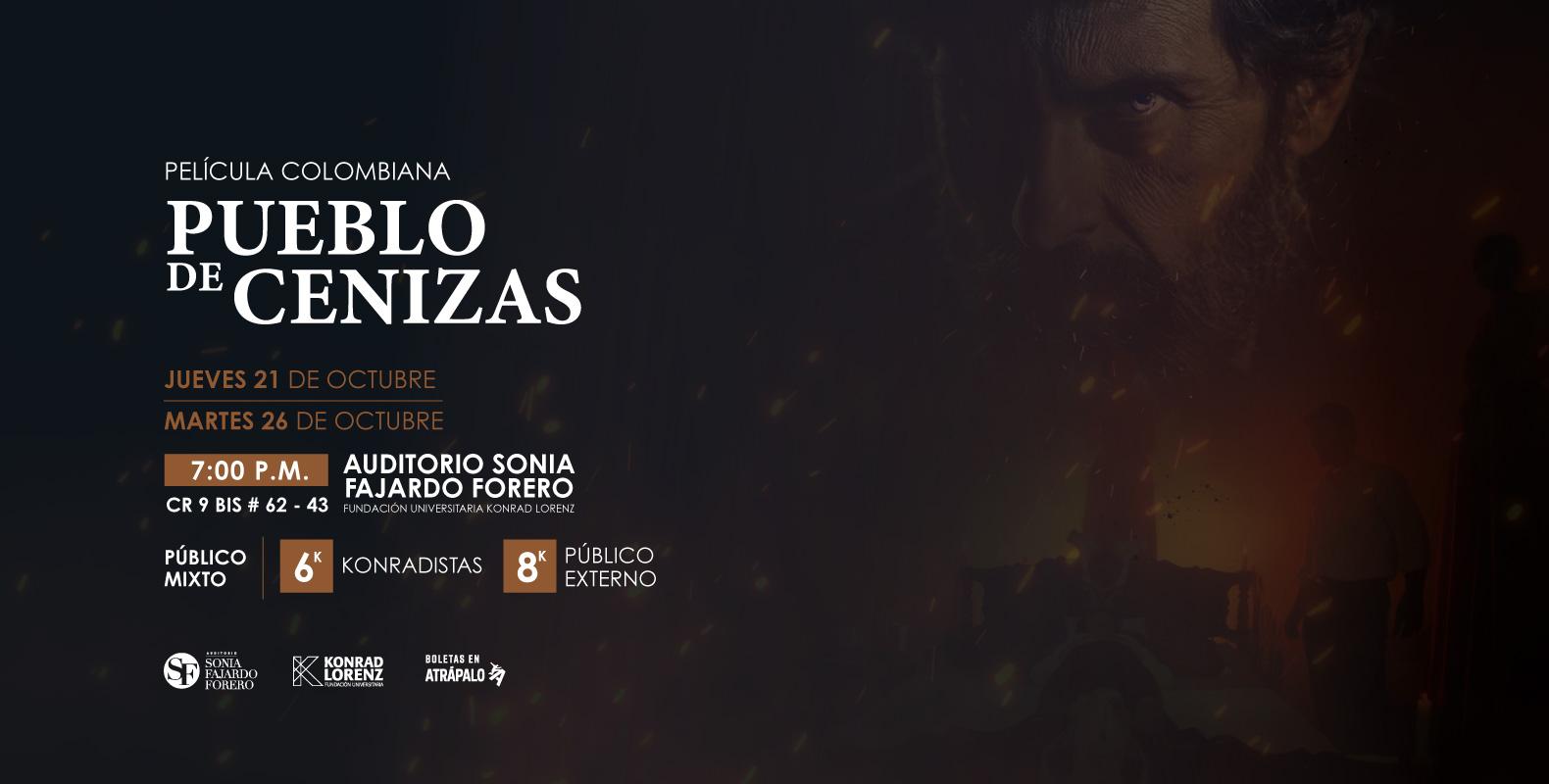 Película Colombiana: Pueblo de Cenizas
