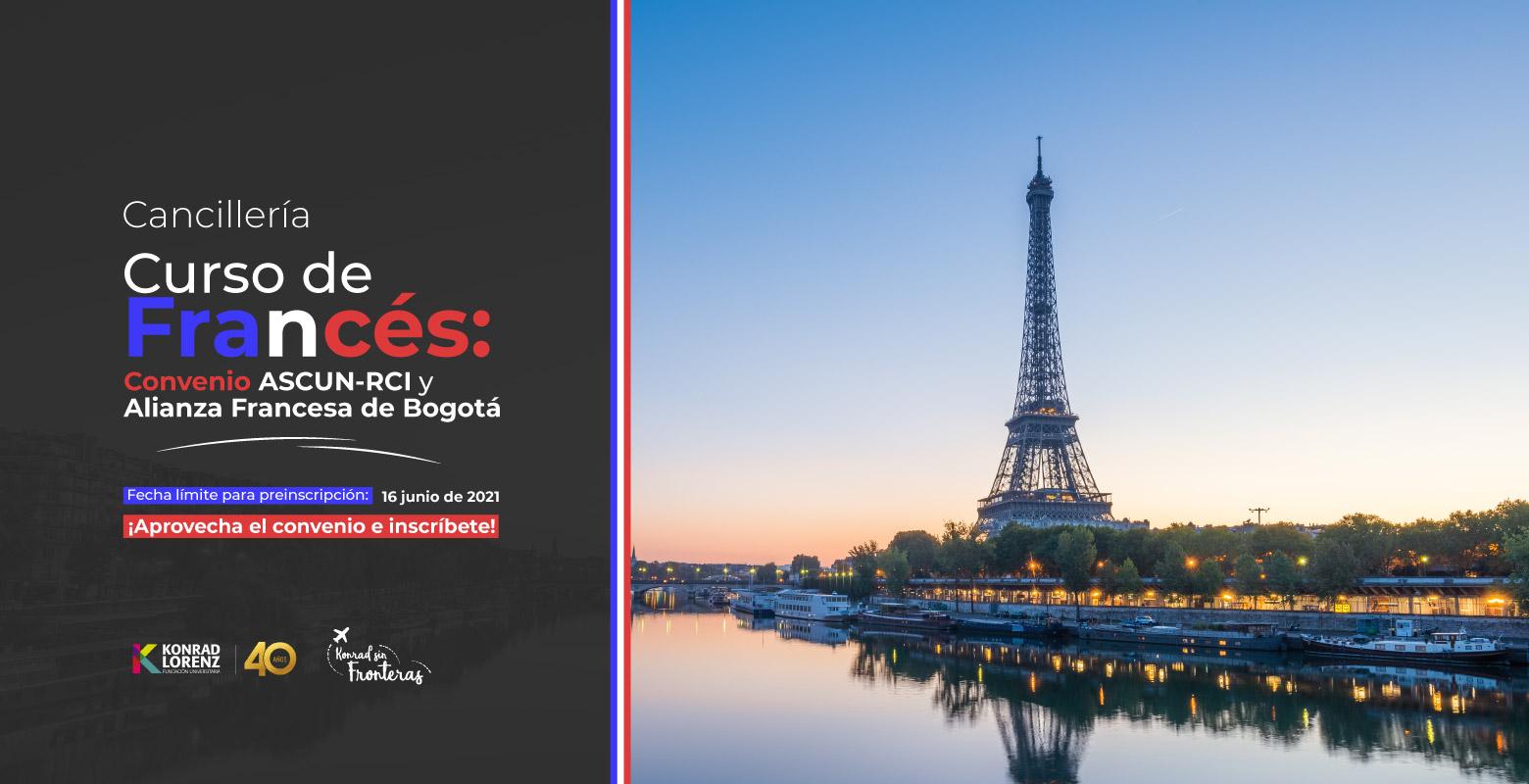 Curso de Francés: Convenio ASCUN-RCI y Alianza Francesa de Bogotá