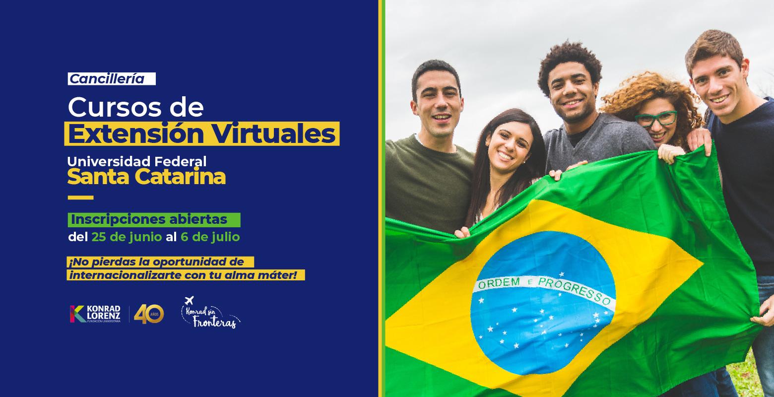 Descubre los Cursos de Extensión Virtuales de la Universidad Federal Santa Catarina de Brasil