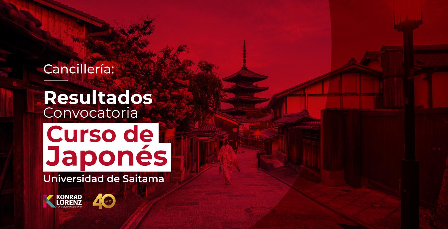 Cancillería: Resultados de la Convocatoria del Curso de Japonés de la Universidad de Saitama