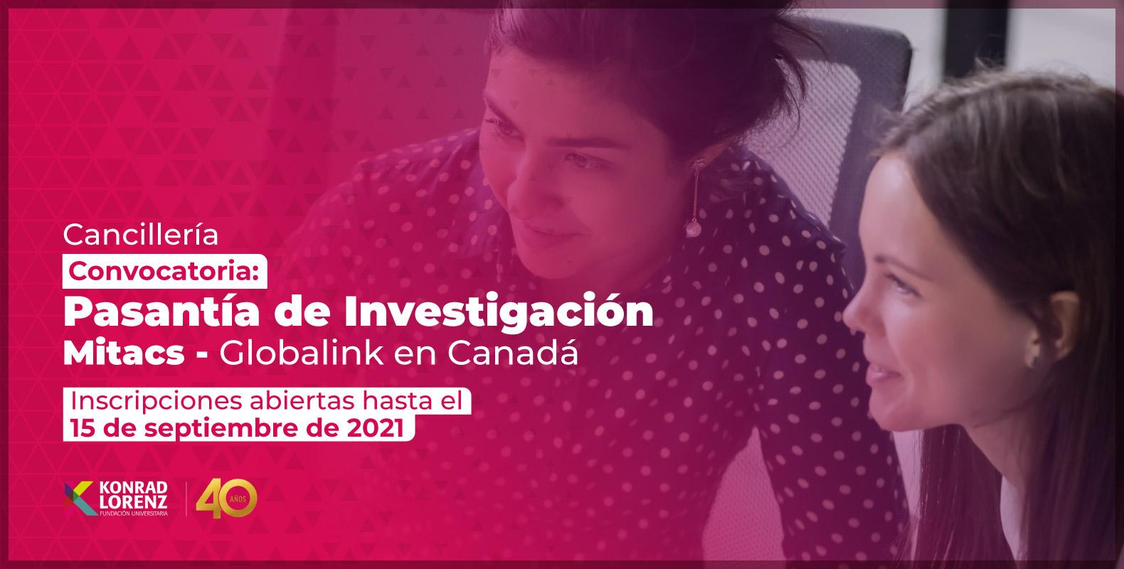 Convocatoria: Pasantía de Investigación Mitacs - Globalink en Canadá