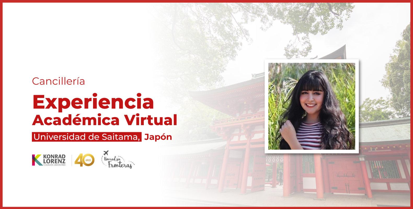 Experiencia Académica Virtual en la Universidad de Saitama, Japón