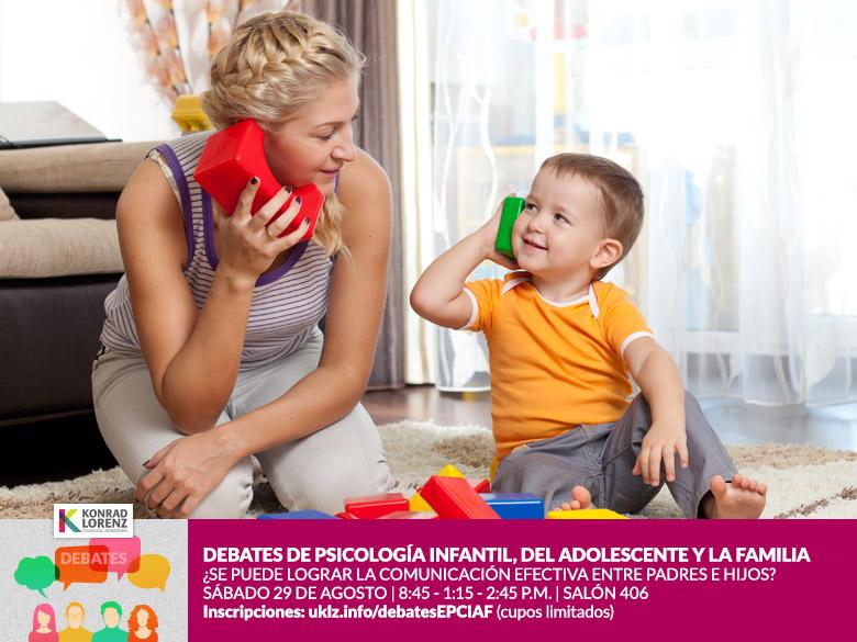 Debates de Psicología Clínica Infantil, del Adolescente y la Familia